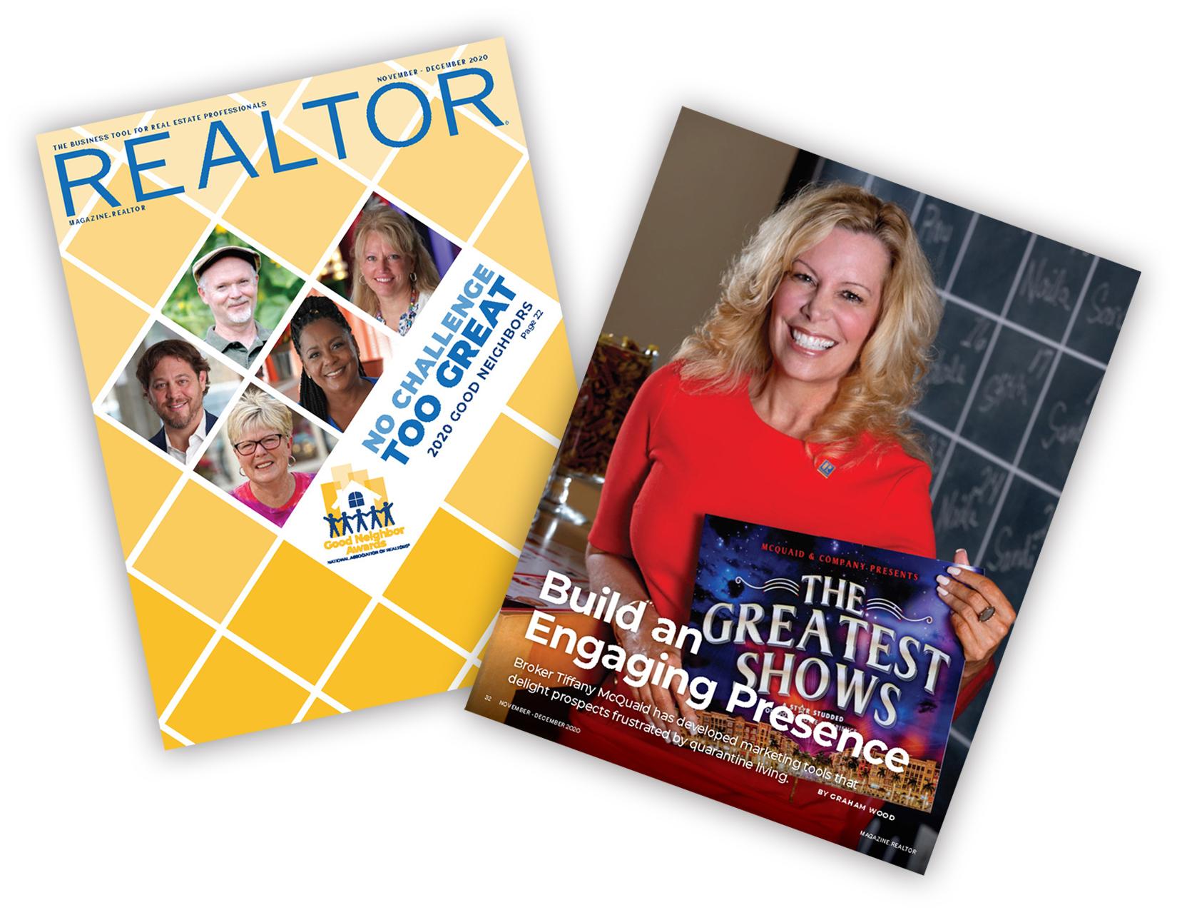 Realtor Magazine - No Challenge Too Great