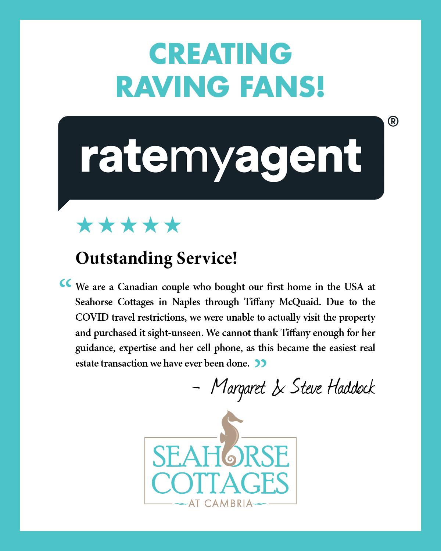 Creating Raving Fans - Seahorse